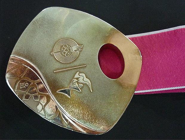medalha bronze pan-americano guadalajara (Foto: Alexandre Massi/Globoesporte.com)