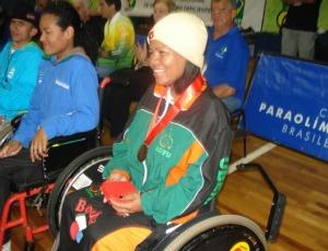 Ercicleide Laurinda para- atleta de Uberaba, MG (Foto: Arquivo Pessoal / Atleta)