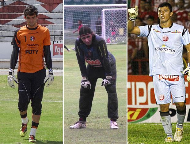 Terceiro goleiro (Foto: Arte GloboEsporte.com)