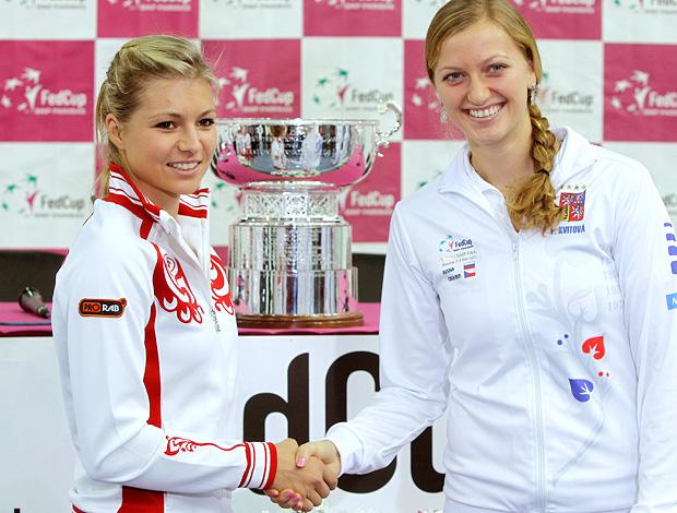 Maria Kirilenko tenis Petra Kvitova Fed Cup final (Foto: Agência Reuters)