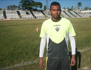 Thiago Pereira, artilheiro do Araxá (Foto: Divulgação/ Araxá Esporte)