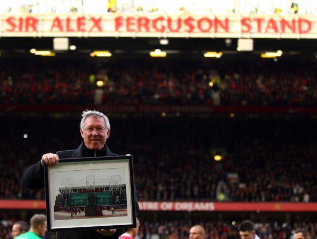 Alex Ferguson placa Manchester United (Foto: Getty Images)