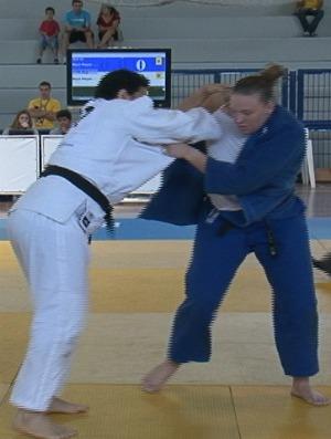 Rafaela Nitz, medalha de bronze nas Olimpíadas Universitárias 2011 (Foto: Reprodução)