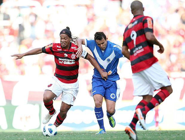 Ronaldinho Flamengo x Cruzeiro (Foto: André Portugal / VIPCOMM)