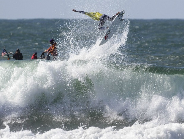 surfe Kelly Slater 11º título mundial, em San Francisco (Foto: ASP)