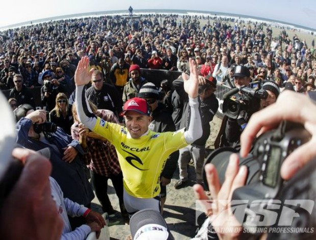 surfe Kelly Slater 11º título mundial (Foto: ASP)