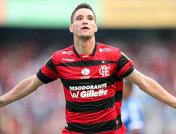 Thiago Neves Flamengo x Cruzeiro (Foto: André Portugal / VIPCOMM)