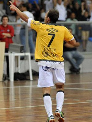Santos, de Pixote, empata com o Florianópolis e está na final da Liga Futsal (Foto: Divulgação/Santos FC)