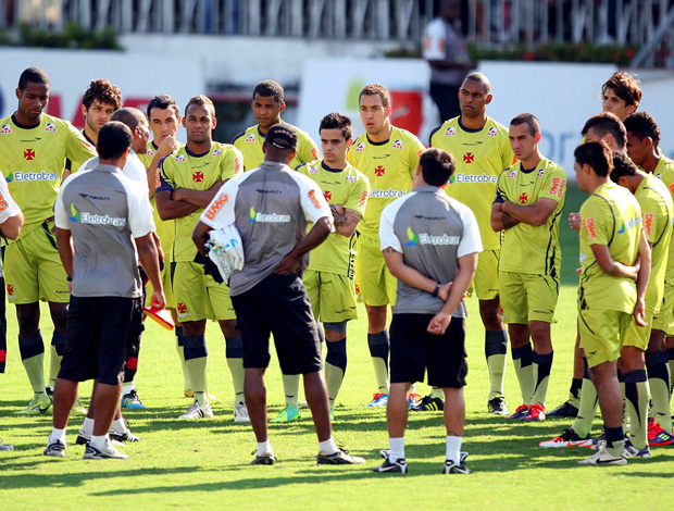 cristovão borges vasco treino (Foto: André Portugal / Fotocom.net)