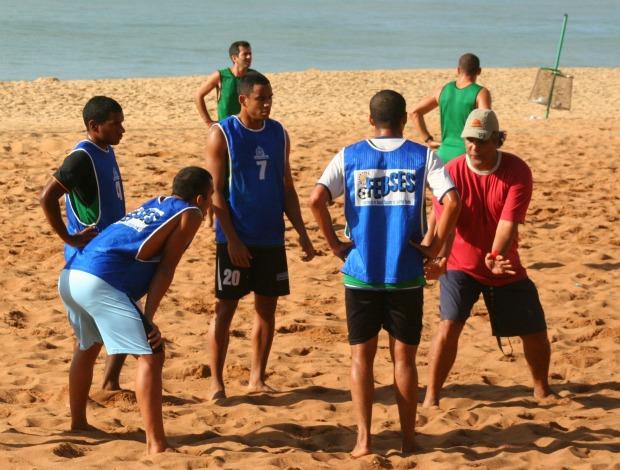 Seleção capixaba futebol de areia (Foto: Pauta Livre/Divulgação)