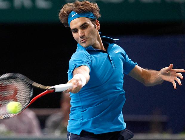 Roger Federer tênis Paris oitavas (Foto: Reuters)