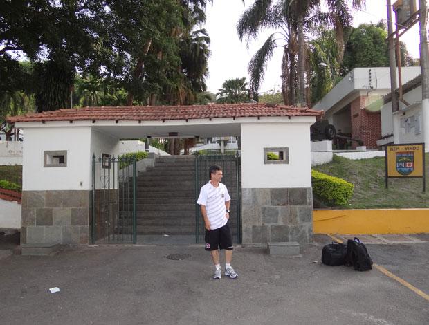 Santa Cruz - Juiz de Fora (Foto: Elton de Castro / GloboEsporte.com)