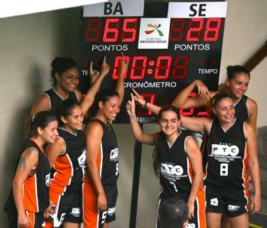 Basquete feminino da FTC (BA) é campeão dos esportes coletivos das OUs (Foto: Divulgação/COB)