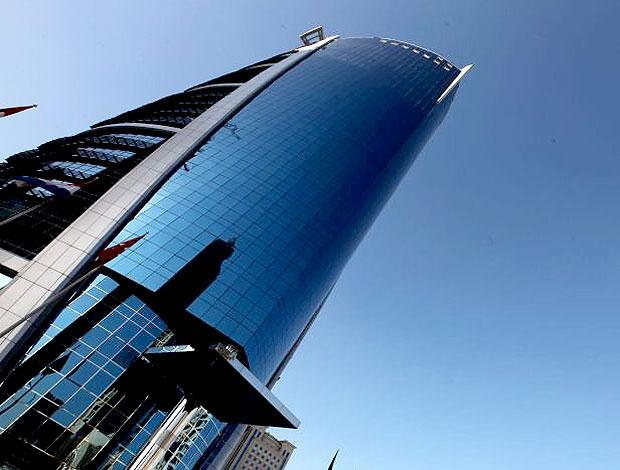 Construções tradicionais também têm vez em Doha (Foto: Mowa Press)
