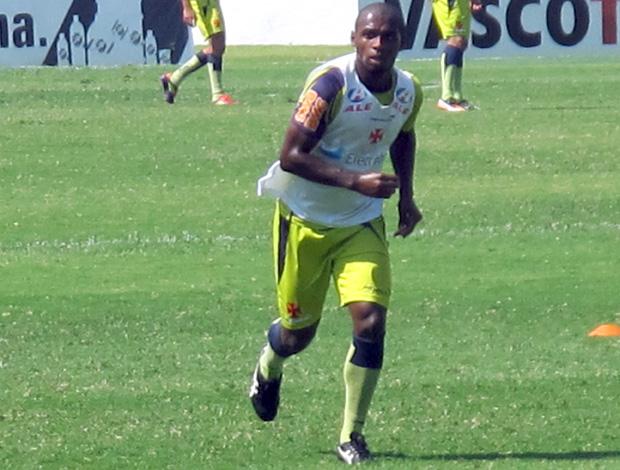 Jumar no treino do Vasco (Foto: Thiago Fernandes / Globoesporte.com)