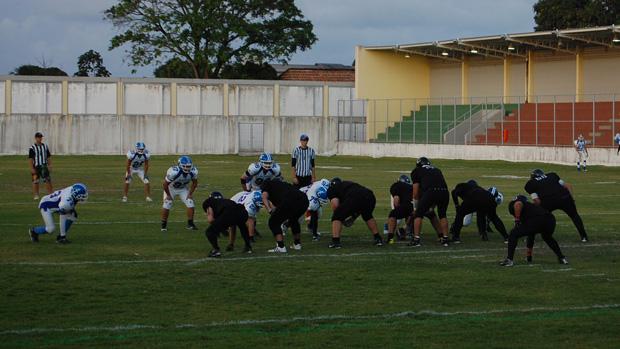 Linefa Futebol Americano (Foto: Krystine Carneiro)