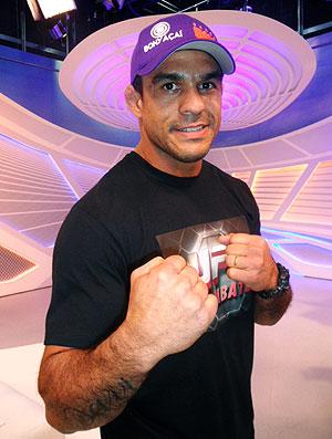 Vitor Belfort lutador e comentarista do UFC (Foto: Marcelo Russio / Globoesporte.com)