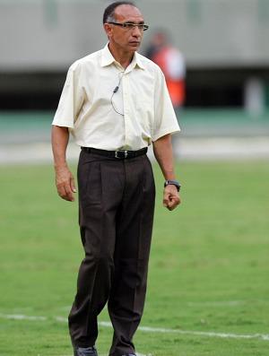 Mirandinha, ex-atacante de Fortaleza, Palmeiras e New Castle e atualmente técnico de futebol (Foto: Diego Morais/Globoesporte.com)