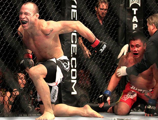 UFC 139 - WANDERLEI SILVA X GUNG LE (Foto: Agência AP)