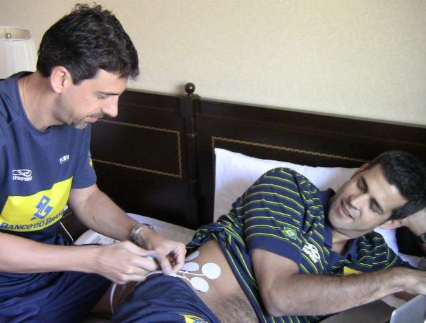 Dante selecao brasileira vôlei tratamento (Foto: Divulgação/CBV)