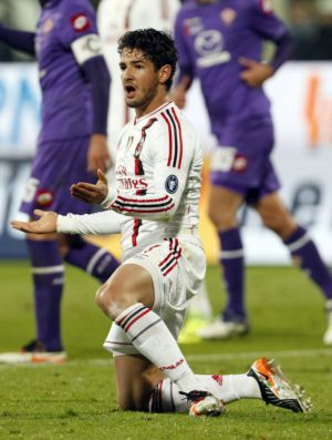Alexandre Pato Milan Fiorentina (Foto: Reuters)