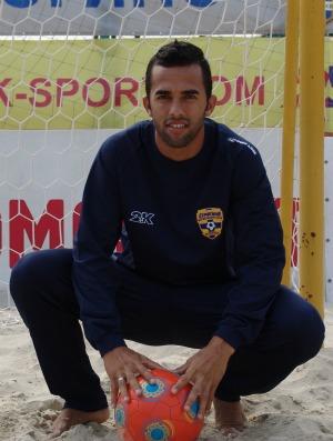 Bruno Xavier futebol de areia  (Foto: Divulgação / Catanzaro Beach Soccer)