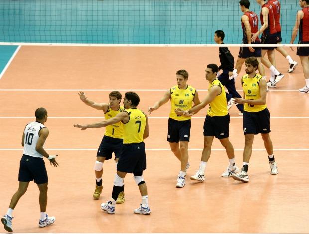 Brasil Estados Unidos copa do mundo de volei (Foto: FIVB/Divulgação)