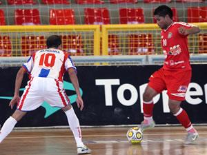 juína empata na estreia futsal (Foto: Reprodução/TVCA)