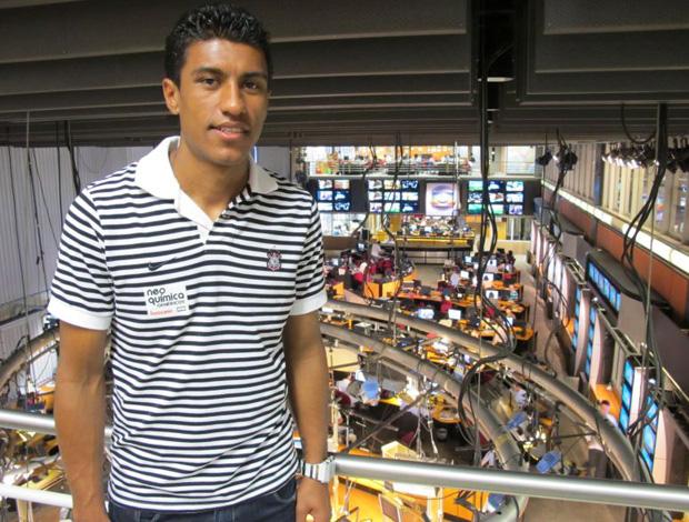 Paulinho, jogador do Corinthians (Foto: Leandro Canônico/Globoesporte.com)