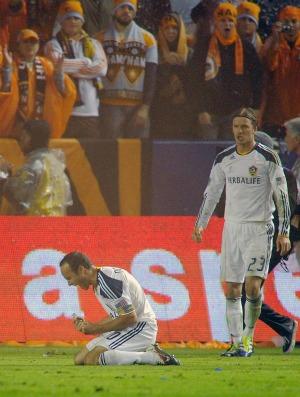 Donovan Beckham Los Angeles Galaxy (Foto: AP)