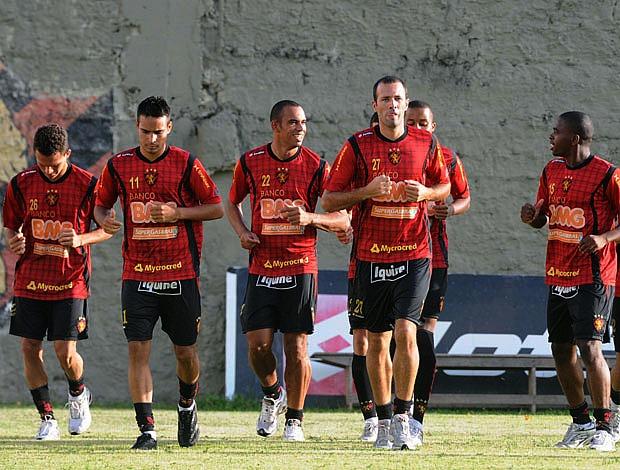 Treino do Sport (Foto: Aldo Carneiro)
