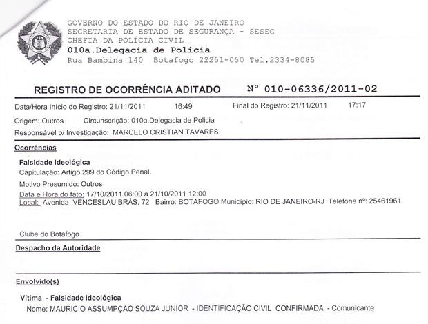 Eleição Inquérito Botafogo (Foto: Reprodução)