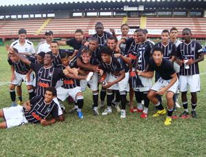Rio Branco-ES conquistou o título do Estadual 2011 Sub-20 (Foto: Deysiane Gagno/Rio Branco AC)