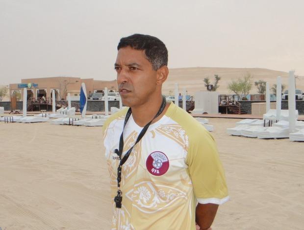 Neném como novo técnico do Catar na Península Arábica (Foto: Arquivo Pessoal)