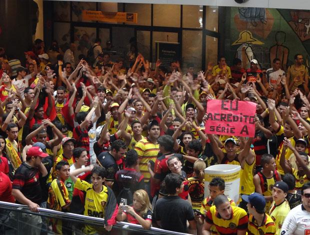 Torcida do Sport (Foto: Bruno Marinho/GloboEsporte.com)