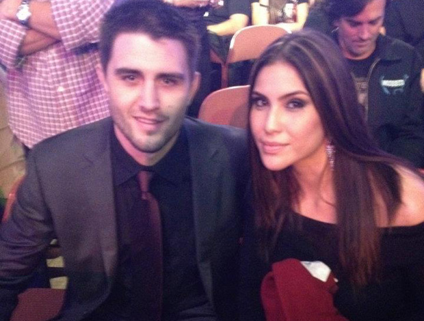 UFC - Carlos Condit e sua esposa Seager (Foto: Divulgação/Twitter)