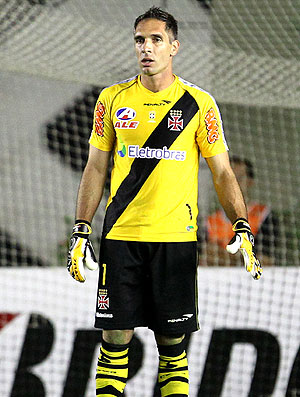 Fernando Prass na partida do Vasco (Foto: Divulgação / Site Oficial do Vasco)