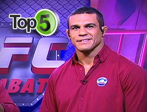 Vitor Belfort lutador e comentarista do UFC top 5 (Foto: Editoria de Arte / GLOBOESPORTE.COM)