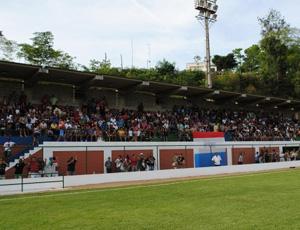Estadio Municipal Cleber Roque Bertolde, em Marilândia (Foto: Divulgação/Prefeitura de Marilândia)