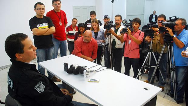 delegado fernando zóccola caso marcelinho paraíba (Foto: Nicolau de Castro / Jornal da Paraíba)