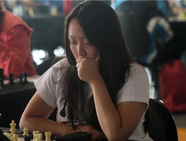 Elise Yuriko Kawabata, Colégio Sapiens (PR), xadrez Olimpíadas Escolares em Curitiba (PR) (Foto: Ricardo Valarini / Inovafoto)
