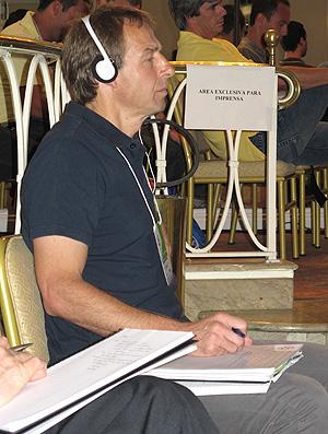 Klinsmann no Footecon (Foto: Gustavo Rotstein / Globoesporte.com)