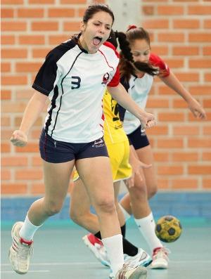 Colégio Santa Emília (PE), handebol Olimpíadas Escolares em Curitiba (PR) (Foto: Wagner Carmo / Inovafoto)