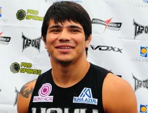 Erick Silva, lutador capixaba de UFC (Foto: Chico Guedes/A Gazeta)