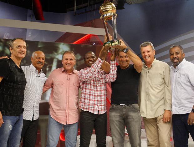 Zico Flamengo 30 anos do Mundial (Foto: Wagner Meier/Globoesporte.com)