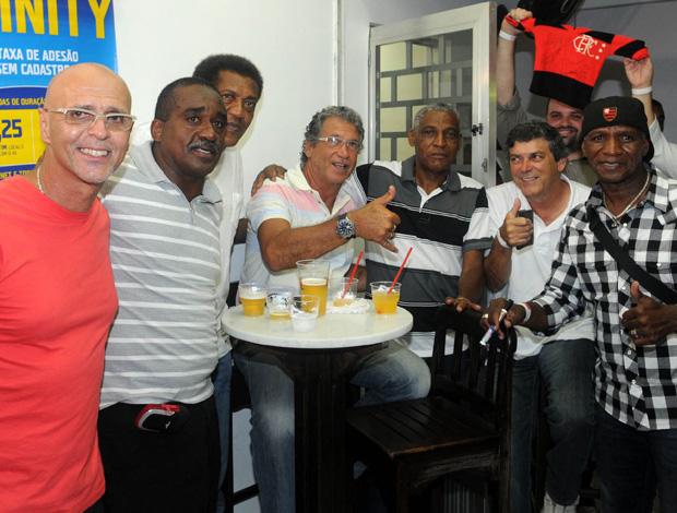 Festa Flamengo Mundial de 1981 (Foto: André Durão/Globoesporte.com)