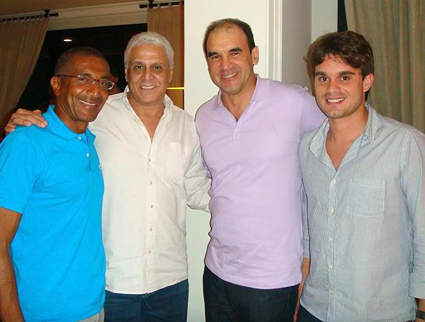 Aniversário do Ricardo Gomes (Foto: Reprodução)
