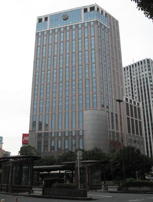 fachada do hotel que será concentração do Santos em Yokohama (Foto: Thiago Dias/Globoesporte.com)