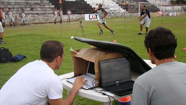 Profissionais do ABC fazem avaliação técnica de atletas do Treze (Foto: Divulgação)