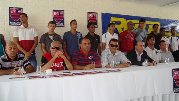 Apresentação Flamengo-PB (Foto: Renata Vasconcellos)